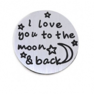 Locket Disc-Love you to the Moon