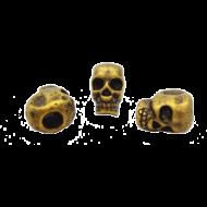Kraal Brons Skull Doodshoofd
