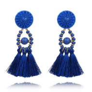 Oorbellen-Kwast-Crystal-Blauw
