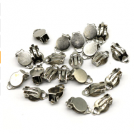 Oorbellen Clips Nickel 10mm