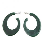 Oorbellen-Hoop-Acetate-Groen