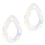 Druppel-vorm Hanger facet  AB-crystal
