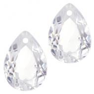Druppel-vorm hanger  Crystal Clear