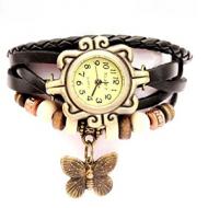 Horloge zwart - BoHo style