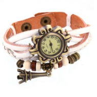 Horloge wit - BoHo style