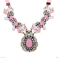 Ketting-Resin-Strass-Lint