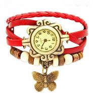 Horloge rood - BoHo style