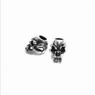 Kraal-Skull-Doodshoofd  RVS