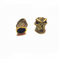 Kraal-groot-gat-Ninja-Skull-goud