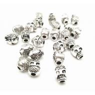 Kraal- zilver - Skull- Doodshoofd #34