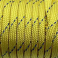 Paracord geelreflecterend (per meter)