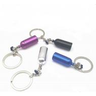 Sleutelhanger Brandweer-spuit kan open - tube
