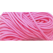 Paracord 100- 1.6mm - Neon roze - 10 meter Type I