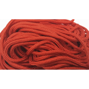 Paracord 100 - rood - 10 meter Type I