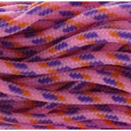 Paracord 2mm Pink/Oranje/Paars
