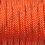 103 Paracord oranje reflecterend (per meter)