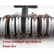 Partij-Lederen-Armbanden-16x