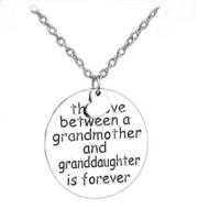 Ketting met hanger tekst : Grandma