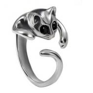Poes - Kat Ring verstelbaar