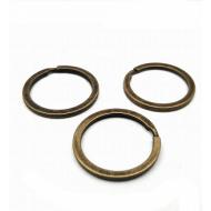 Brons  Ring  t.b.v. Sleutelhanger