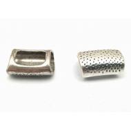 Metalen brede  Schuiver  10x7mm