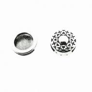 Schuiver-rond-bewerkt-zilver