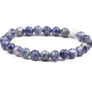 Armband Blue Agate 8mm