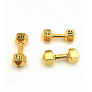 Connector Goudkleur Dumbbell- Gewicht - Fit Life