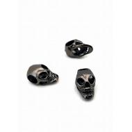 Gun Black Skull /Doodshoofd groot gat kraal 4mm
