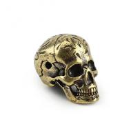 Kraal Skull Doodshoofd Tattoo