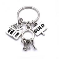 Sleutelhanger Huis Sold