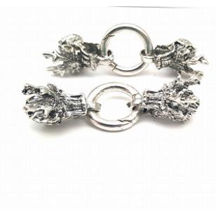 Draken Sluiting - Metaal met ring