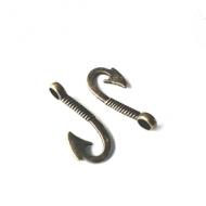 Vis-Haak-Sluiting-brons-31mm