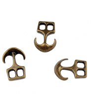 Anker-sluiting-23x16mm-Brons