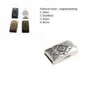 Sluiting-Magneet-Aztec-5kleuren
