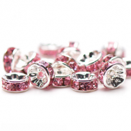 Spacer-8mm-Strass-pink
