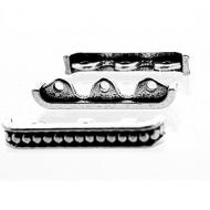Verdeler-Zilver-24mm-3gaats