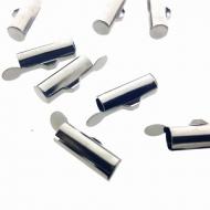 Schuif-veterklem-gunblack-13.5mm