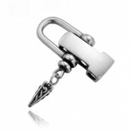 Sluiting Shackle Viking Rvs