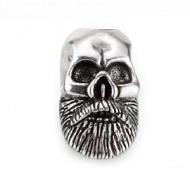 Kraal Viking Skull Zilver