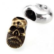 Kraal Viking Skull Brons