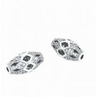 Kraal-ovaal-Zirkonia-zilver