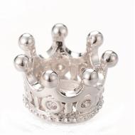 Kraal Kroon Zirkonia Zilveren