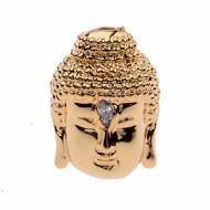 Kraal Zirconia Boeddha goud