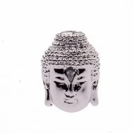Kraal Zirconia Boeddha zilver